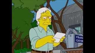 Frank Gehry dans Les Simpson - 2005