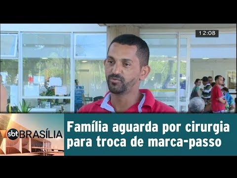 Família aguarda por cirurgia para troca de marca-passo