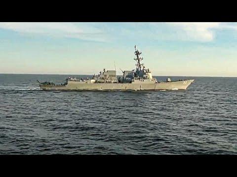 فيديو: واشنطن تنفي تصريحات موسكو بشأن طرد مدمرة أمريكية في بحر اليابان  - نشر قبل 4 ساعة