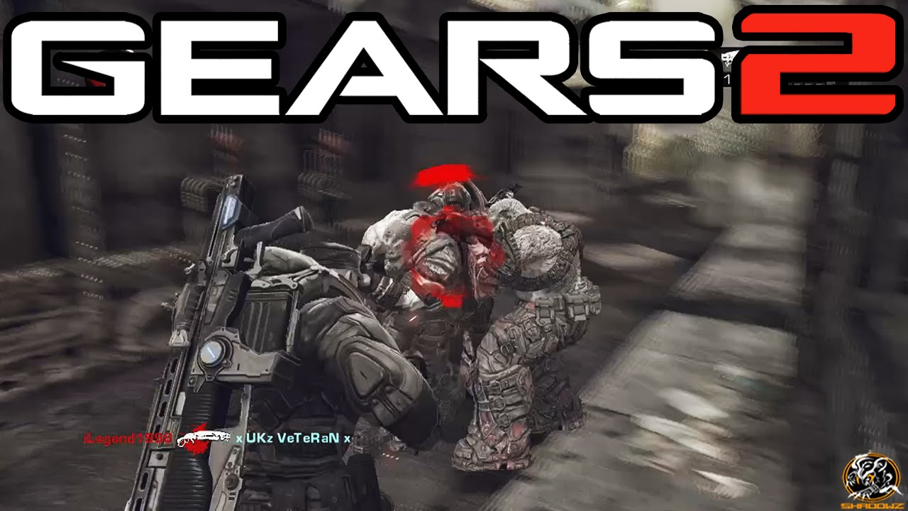 Gears of War 2 Xbox One - MY FIRST ONLINE MATCH! (Multiplayer Gameplay)