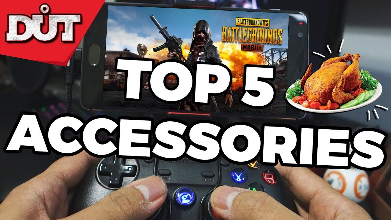 Top 5 GAMING Accessories To WIN in PUBG Mobile