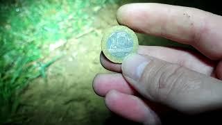 Ночной коп и евро находки