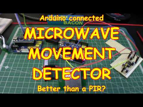 #78 See thru walls! Microwave Movement Sensor