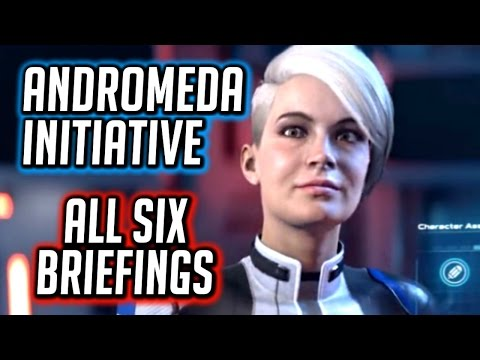 Mass Effect: Andromeda Initiative 🚀 All Briefings