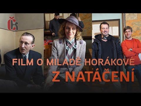 Shooting of the Milada movie with Ayelet Zurer