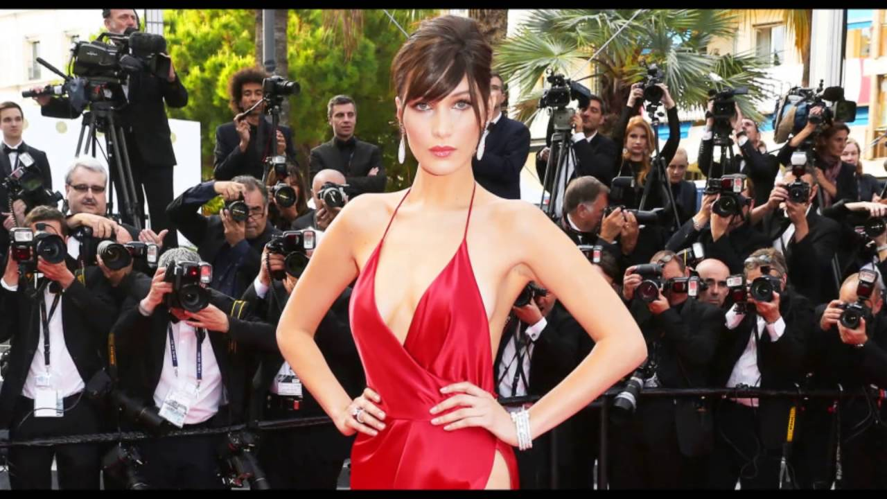 8ddc4f5a27c Bella Hadid Wears Quite Possibly The Sexiest Dress Of All Time To 2016  Cannes