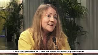 FPU 22/06/2021 - Quel futur pour le secteur de l'architecture ? Interview de Christine Leconte, CNOA