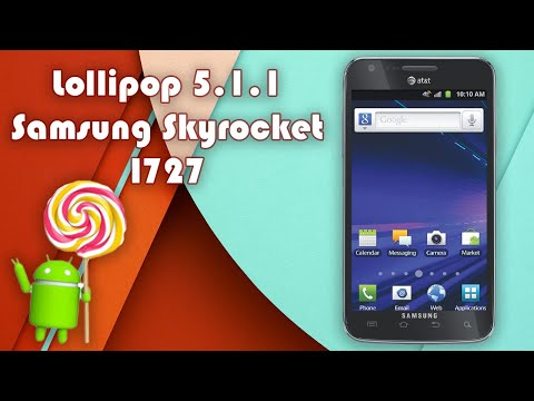 Instalar Lollipop 5.1.1 en Samsung Galaxy SII Skyrocket I727