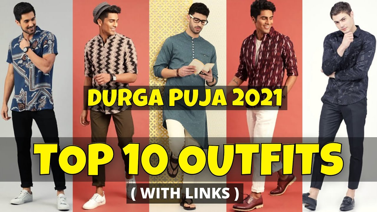 Best OUTFIT IDEAS For DURGA PUJA 2021 || Latest Durga Puja Dress For Men || 2021 Durga Puja Outfits