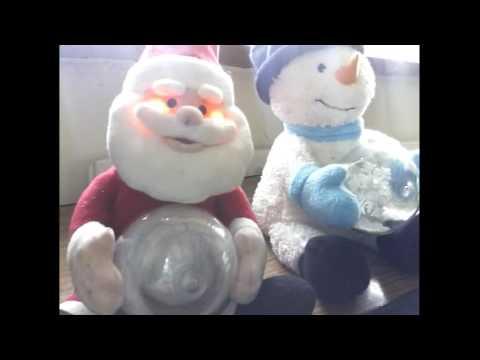 Animated Snow Globe Characters 'Santa & Snowman' (Sainsburys/ B&M) - Snowflake Reviews