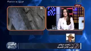 حواس: الحديث عن وجود لعنة في تابوت الإسكندرية لا علاقة له بالعلم