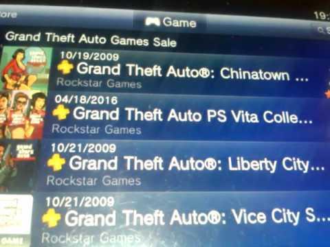 GTA PsVita Collection. - YouTube