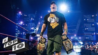 Double Champions: WWE Top 10, Aug. 26, 2019