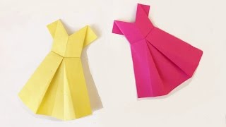 Video How to make a Paper dress? (easy) download MP3, 3GP, MP4, WEBM, AVI, FLV September 2018