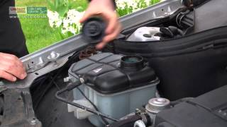 Coolant Check Level W203