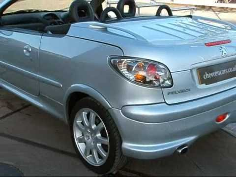 2005 peugeot 206 cc 2 0 se sold youtube. Black Bedroom Furniture Sets. Home Design Ideas