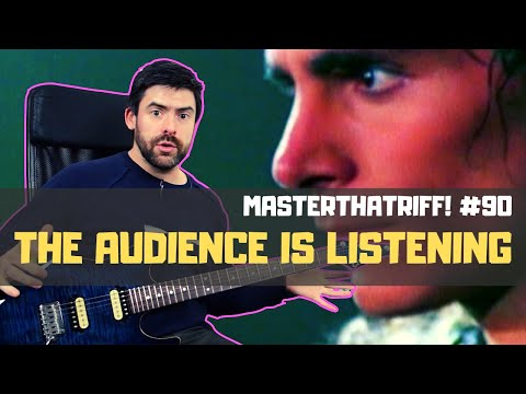 The Audience Is Listening by Steve Vai - PLAY IT LIKE IT IS Guitar Lesson w/TAB - MasterThatRiff! 90