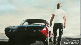 Gambar cover Fast and furious 6 wallpaper Drawing - Time-lapse