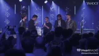 Mumford and Sons at iHeartRadio Theater in NYC 2015