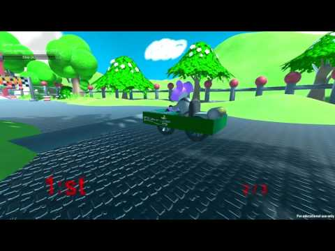 Online kart racing game - UNITY 3D - Kart building and multiplayer