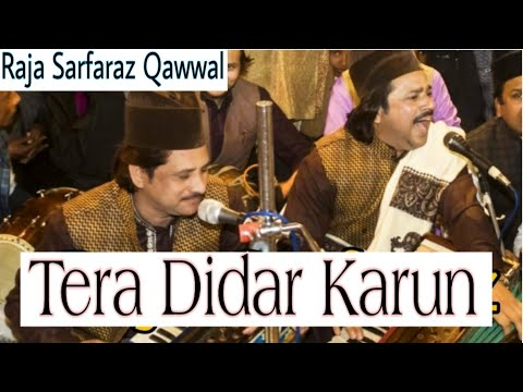 Raja Sarfraz Qawwal Rampur Tera Didar Karu My Contact N 9760920731