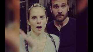The Vikings- Behind the Scenes (queen kwenthrith's funny moments)