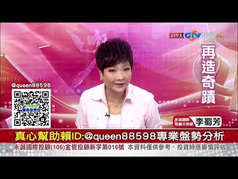 中視【李蜀芳2019/08/15】股市全芳位