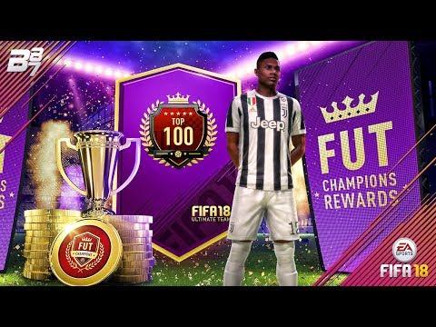TOP 100 FUT CHAMPIONS REWARDS! ULTIMATE TOTW PACK AND 15x 100K PACKS! | FIFA 18 ULTIMATE TEAM