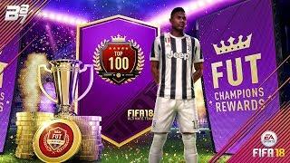 TOP 100 FUT CHAMPIONS REWARDS! ULTIMATE TOTW PACK AND 15x 100K PACKS!   FIFA 18 ULTIMATE TEAM