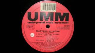 Masters At Work - I Cant Get No Sleep (MK Mix)