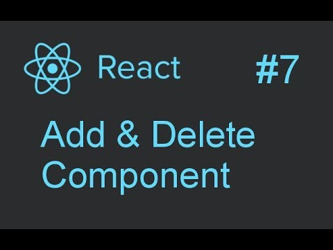 Add Delete Components Dynamically in React