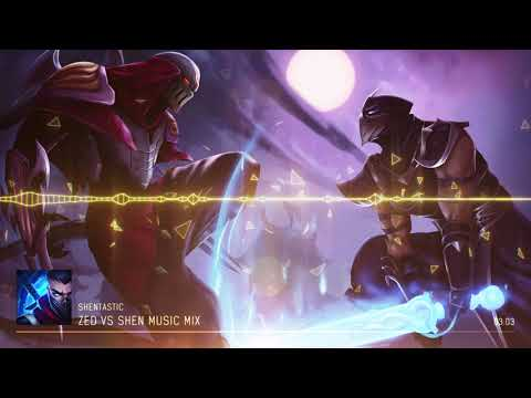 Zed vs Shen -  Mix
