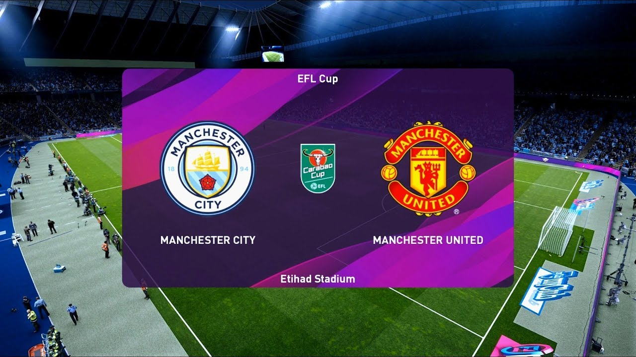 Manchester City vs Manchester United   Edtihad Stadium ...