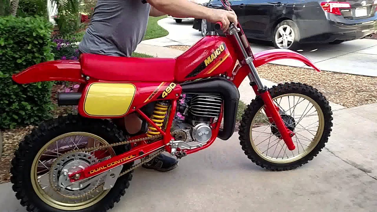 Restored 1982 maico 490 available! - Old School Moto - Motocross ...