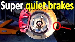 How to STOP BRAKE SQUEAKING in your car (No Squeaks Guaranteed)