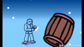 【ネタ】爆弾を蹴ると20%ずつテンポアップするカラテ家キック(リズム天国ザ・ベスト+) thumbnail