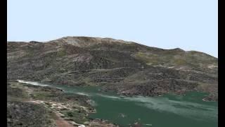valle de iruelas embalse de la presa del Burguillo