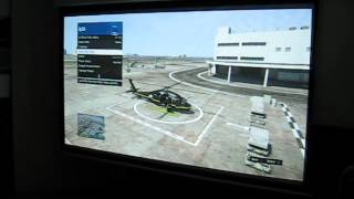 GTA5 on Optoma EP1690 projector at 104 inches