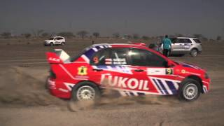 2015 Dubai International Rally Official Highlights