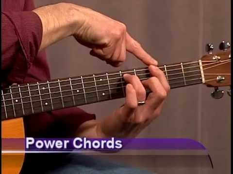 Beginner Guitar Power Chords ! - YouTube