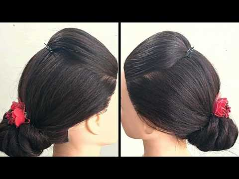 Awesome Hairstyle For Long Hair    Easy Long Hair Hairstyle For Wedding thumbnail
