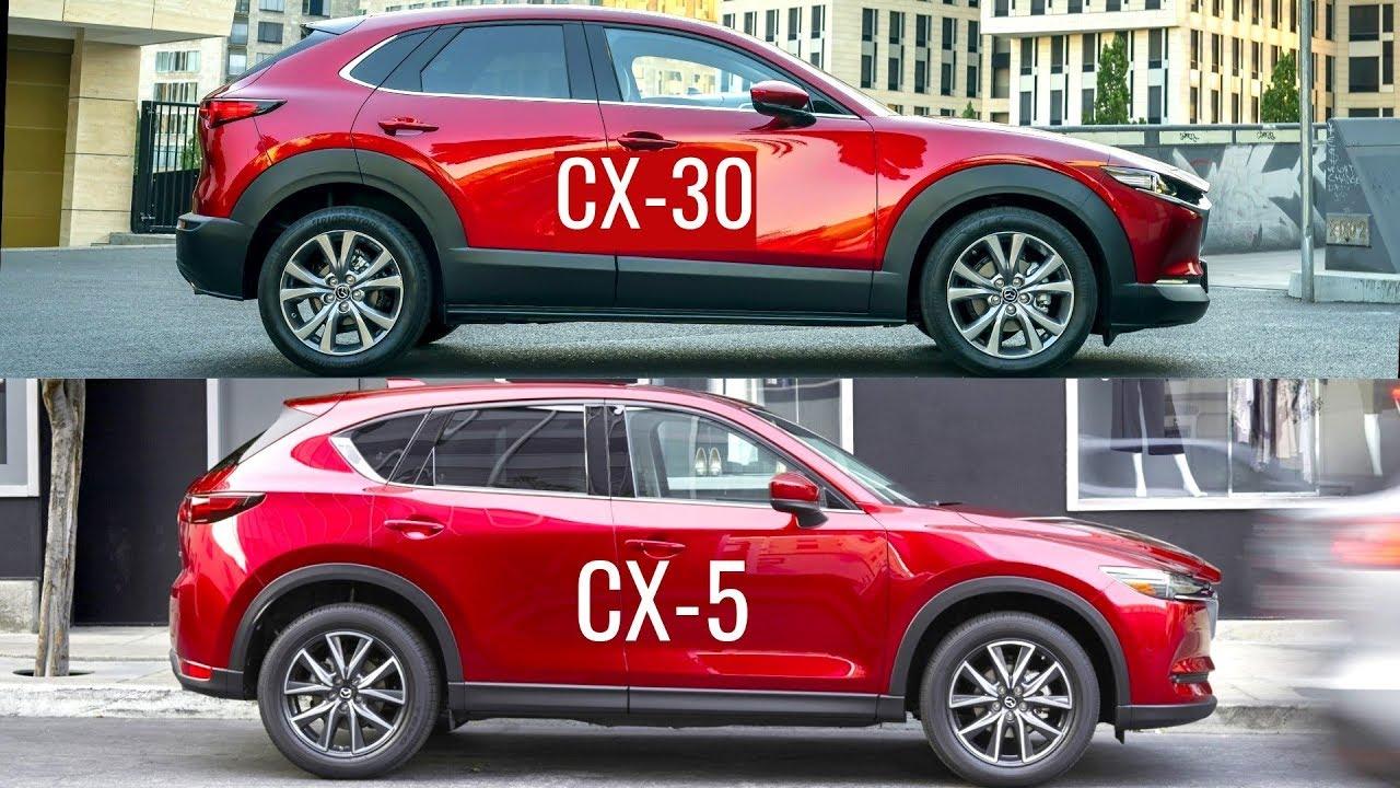 2020 Mazda Cx 30 Vs Mazda Cx 5