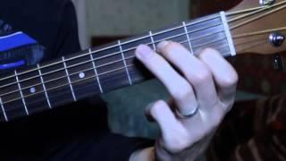Обучение игре на гитаре с нуля.  Первый аккорд Am