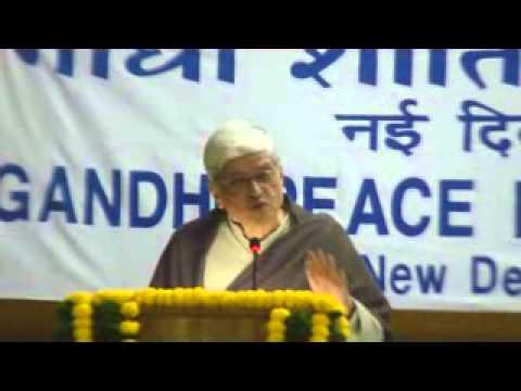 01 Gopalkrishna Gandhi Our Times Fourtieth Gandhi Peace Foundation Lecture 30 Jan 2014