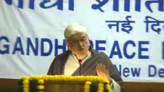 01 Gopalkrishna Gandhi Our Times Fourtieth Gandhi Peace Foundation Lecture 30 Jan 2014