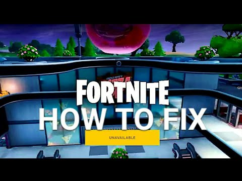 How To Fix FORTNITE UNAVAILABLE On Your PC Windows 2019 Guide
