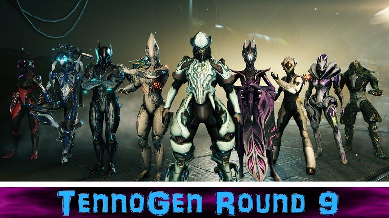 U21.5] Warframe - TennoGen Round 9 - All 11 Skins Customized ...