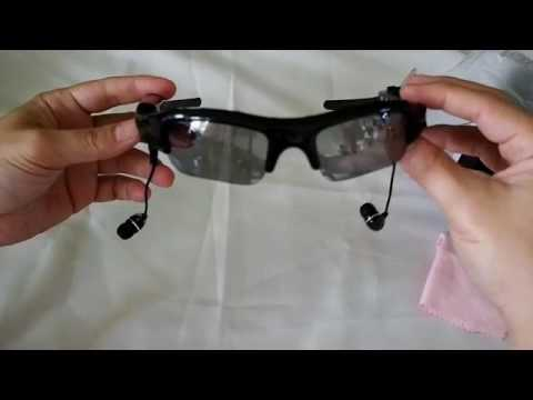 spy and mp3 glasses unboxing by bluesky communication