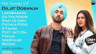 Best Of Diljit Dosanjh || Super Hit Songs of Diljit Dosanjh || Punjabi Jukebox 2020 || Part-1