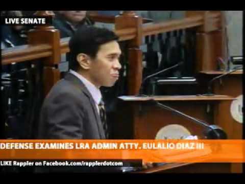 Defense presents 14th witness, LRA Admin Atty. Eulalio Diaz III